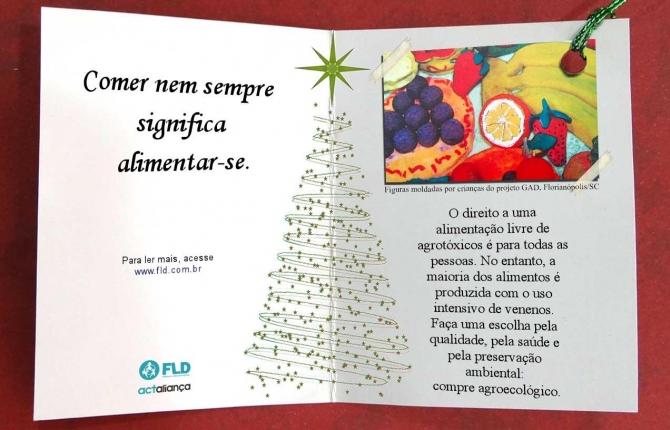 Campanha FLD – Natal com Direitos: Agrotóxicos ou Agroecologia?