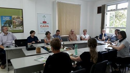 Grupo da Alemanha visita CAPA e Ecovale