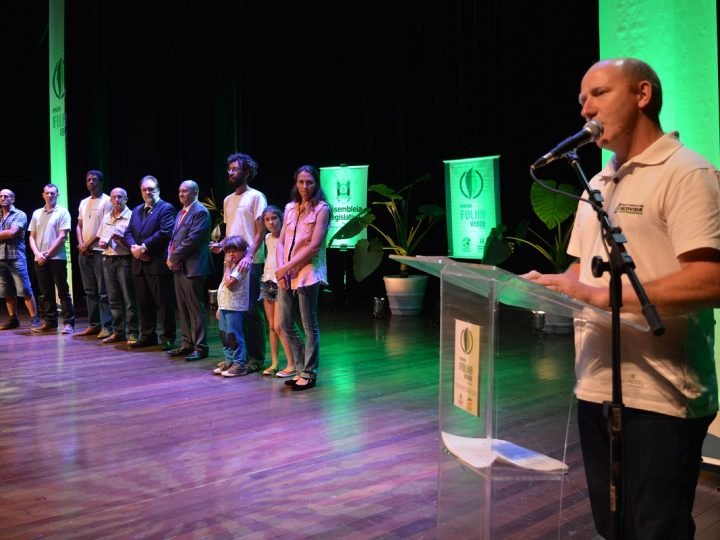 Rede de Agroecologia – Ecovida recebe Prêmio Folha Verde 2019