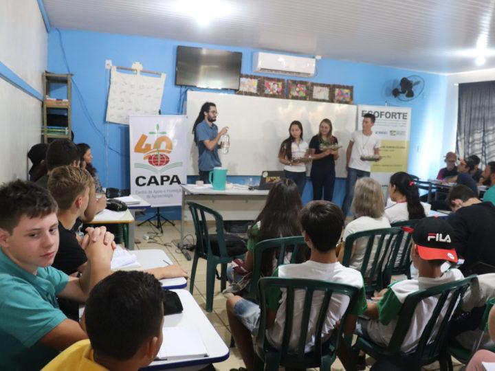 Estudantes vão acompanhar Quintal Agroecológico em São Jorge D'Oeste