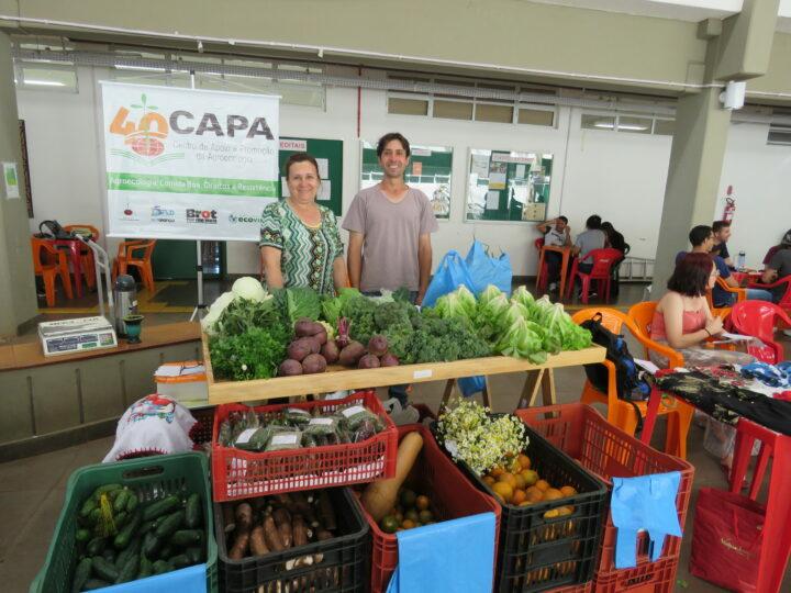 CAPA Erexim divulga atividades da Semana dos Alimentos Orgânicos